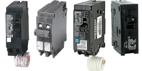 20 Amp 10,000 AIC Siemens Siemens Bolt On Single Pole 120 Volt Combination AFCI Breaker